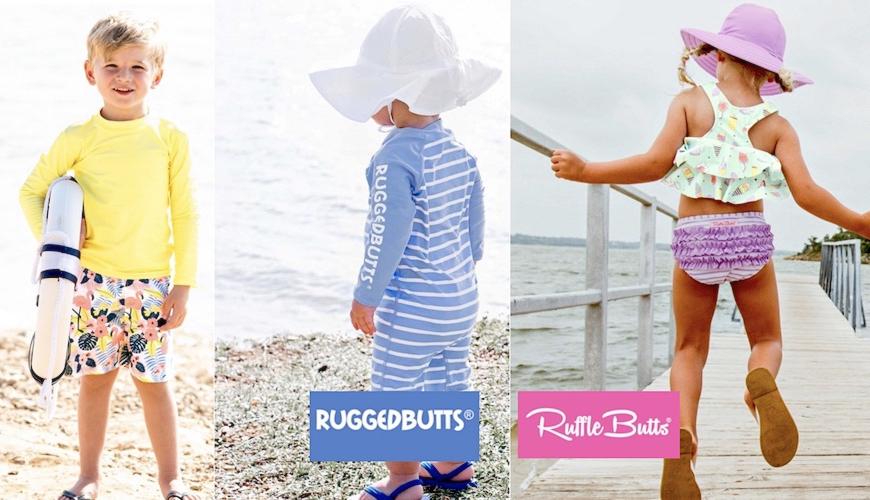 Παιδικά Μαγιό και Μπλούζες με προστασία UV