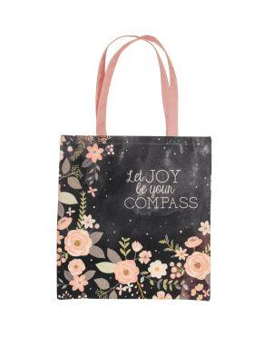 Τσάντα Πολλαπλών Χρήσεων, Charcoal Flower