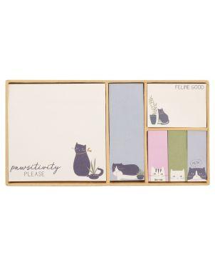 Αυτοκόλλητα Χαρτάκια Σημειώσεων, Γάτα