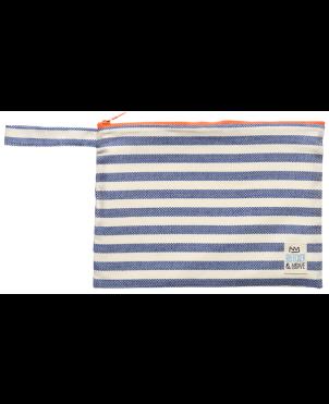 Τσαντάκι Bleecker & Love, Small, Stripes Blue