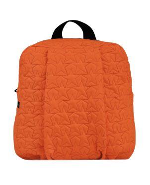 Mini Backpack, Bleecker & Love, Stars Neon Orange