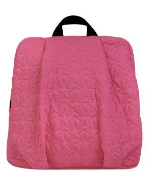 Mini Backpack, Bleecker & Love, Stars Neon Pink