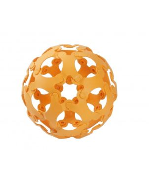 Παιχνιδι Κατασκευων BINABO, 36 chips, Πορτοκαλί