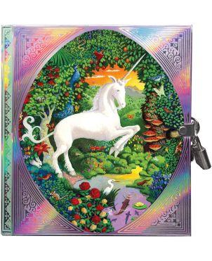 Σημειωματάριο με Κλειδαριά, Diary Unicorn