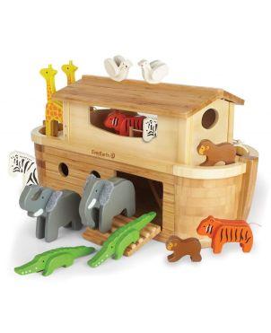 Ξύλινο Παιχνίδι, Giant Noah's Ark-14 animals