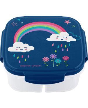 Παιδικό Δοχείο Φαγητού  Με Παγοκύστη, Rainbow