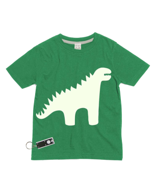 T-Shirt Glow in the Dark, Dino