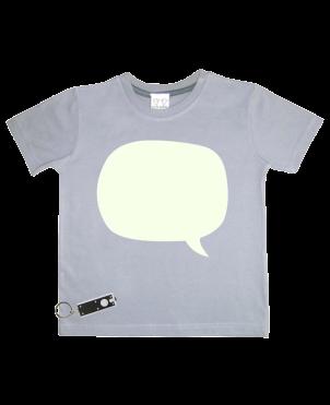 T-Shirt Glow in the Dark, Speech