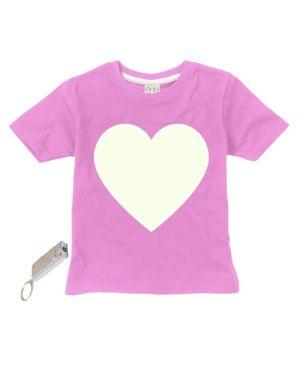 T-Shirt Glow in the Dark, Heart