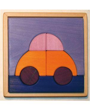 Puzzle-παιχνίδι αυτοκίνητο , Spiel & Holz