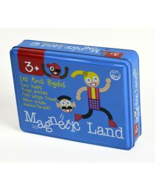 Μαγνητικό Puzzle, MagneticLand, Funny Buddies