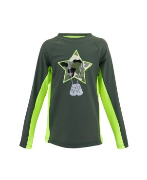 Μπλούζα με προστασία UV Camo Star