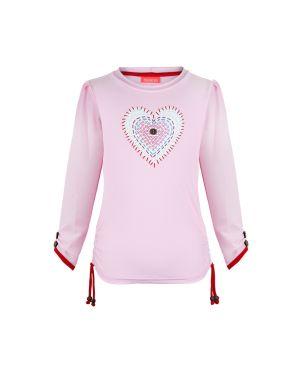 Μπλούζα με προστασία UV Patchwork Heart