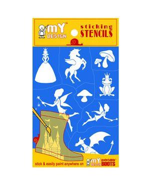 Νεράϊδες Stencil pack, I love my design