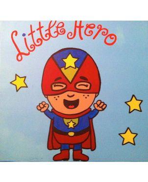 Παιδικό χειροποίητο κάδρο Μικρός Ήρωας