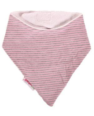 Σαλιάρα bandana ροζ, minene