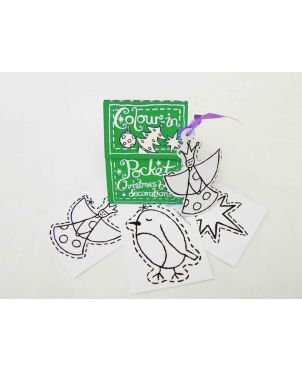 Color-in Pocket Book, Christmas
