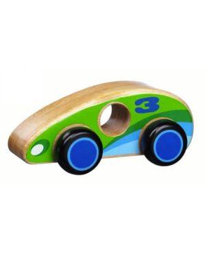 Ξύλινο Πράσινο Αυτοκίνητο