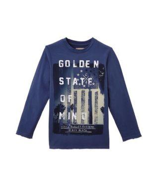 T-Shirt Alan, Indigo