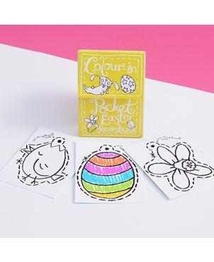 Color-in Pocket Book, Easter