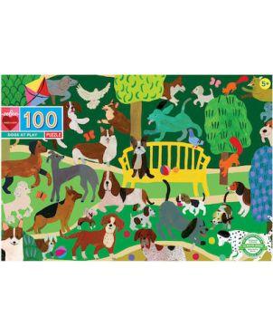 ΠΑΙΔΙΚΟ PUZZLE 100pcs , DOGS AT PLAY