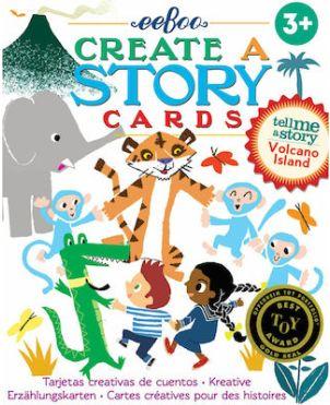 Επιτραπέζιο Παιχνίδι Με Κάρτες ,Create A Story, VOLCANO ISLAND