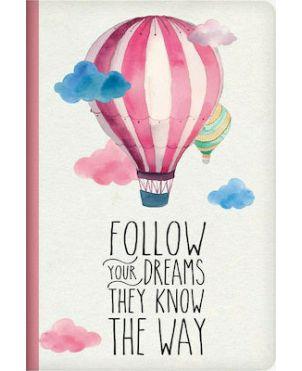 Σχολικά Τετράδια Α5 Legami - Follow Your Dreams