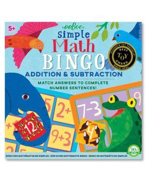 Επιτραπέζιο Παιχνίδι, Simple Math Bingo