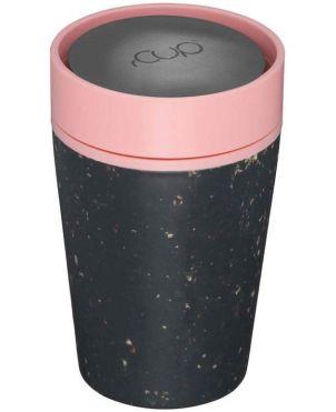 Οικολογικά Ποτήρια - Θερμός 227ml, rcup, Black-Pink