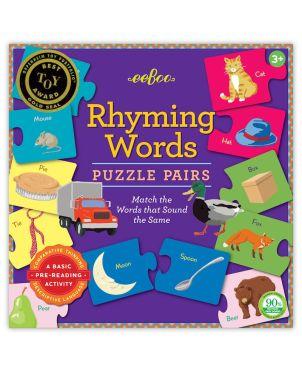 Επιτραπέζιο Παιχνίδι, Rhyming Words