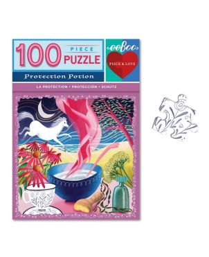 Puzzle 100 κομ, Piece & Love, Protection Potion