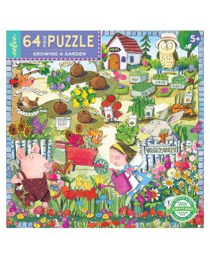 Παιδικό Puzzle 64 κομ, Growing a Garden