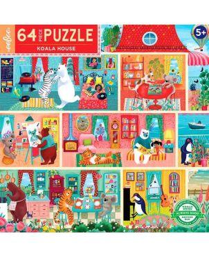 Παιδικό Puzzle 64 κομ, Koala House
