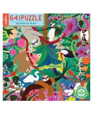 Παιδικό Puzzle 64 κομ, Sloths at Play