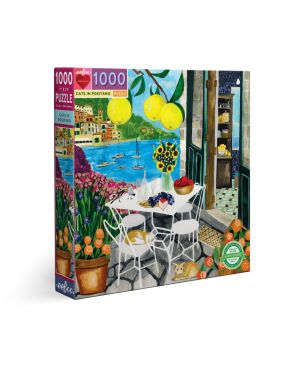 Puzzle 1000 κομ Piece & Love, Cats in Positano