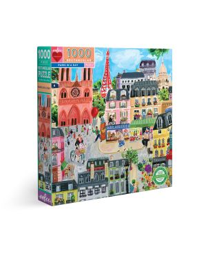 Puzzle 1000 κομ Piece & Love, Paris In A Day