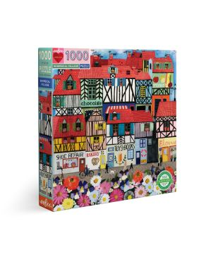 Puzzle 1000 κομ Piece & Love, Whimsical Village
