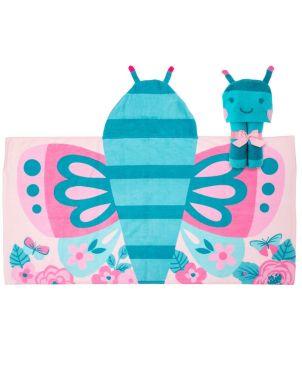 Παιδική πετσέτα με κουκούλα, Butterfly