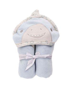 Βρεφική Πετσέτα με Κουκούλα, Shark