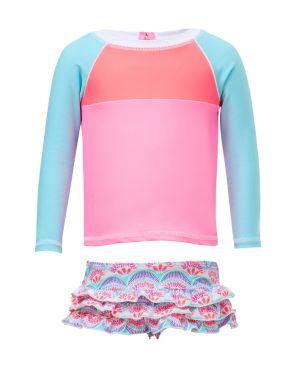 Μπλούζα & μαγιό με προστασία UV, Tutti Frutti Ruffle