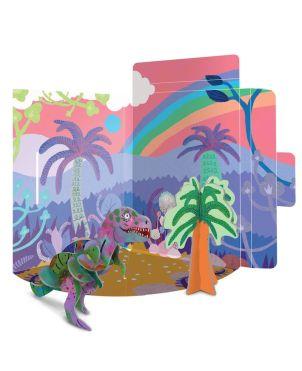 3D Puzzle Κατασκευή Δεινόσαυρος, Τ-REX