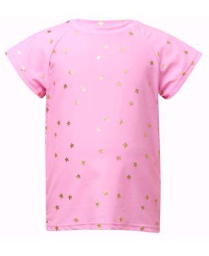 Μπλούζα με προστασία UV, Pink Gold Star
