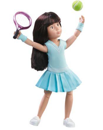 Κούκλα Kruselings, Luna Tennis Practice