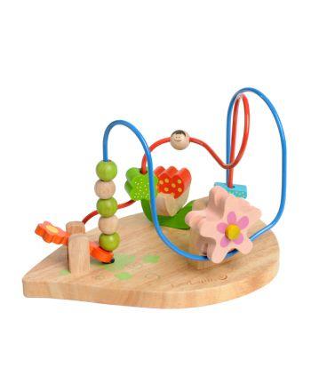 Ξύλινο Παιχνίδι, Flower Fun Motor Skills Loop