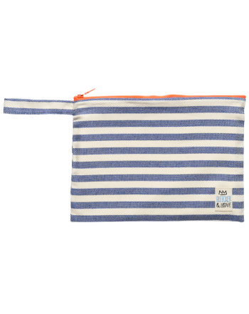 Τσαντάκι Bleecker & Love, Small, Stripes Blue