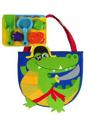Τσάντα θαλάσσης με παιχνίδια, Alligator Pirate