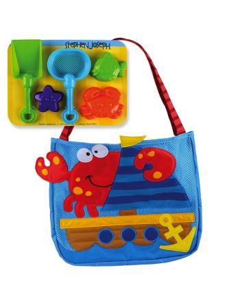 Τσάντα θαλάσσης με παιχνίδια, Crab
