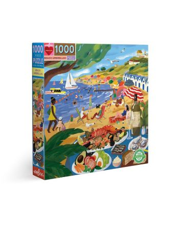 Puzzle 1000 κομ Piece & Love, Beach Umbrellas