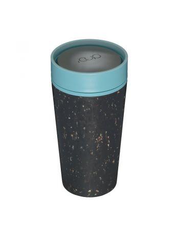 Οικολογικά Ποτήρια - Θερμός 340ml, rcup, Black-Blue