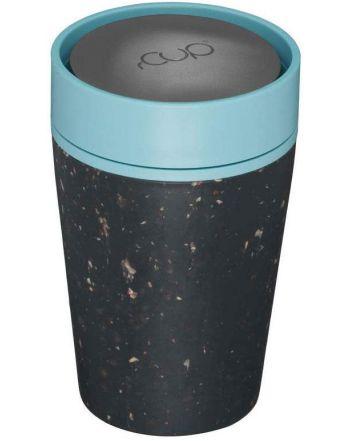 Οικολογικά Ποτήρια - Θερμός 227ml, rcup, Black-Blue